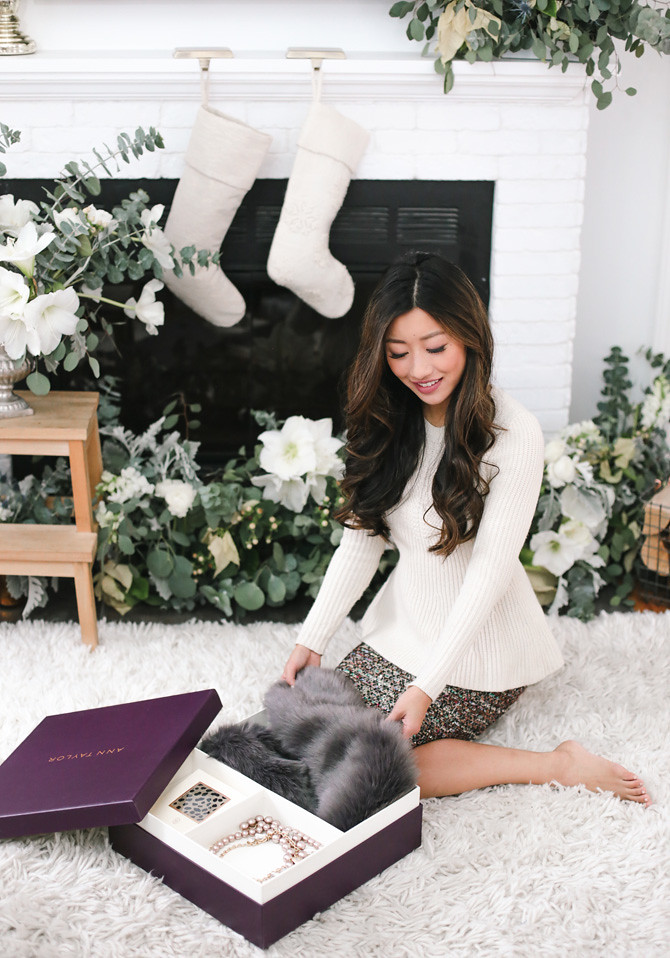 ann taylor extra petite holiday gift boxes