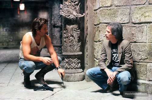 Big Trouble in Little China - Backstage 2 - Kurt Russell and John Carpenter