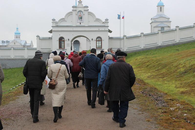 Паломничество в Покрово-Тервенический и Александро-Свирский монастыри