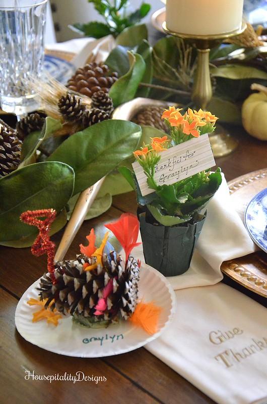 Handmade Pinecone Turkey - Housepitality Designs