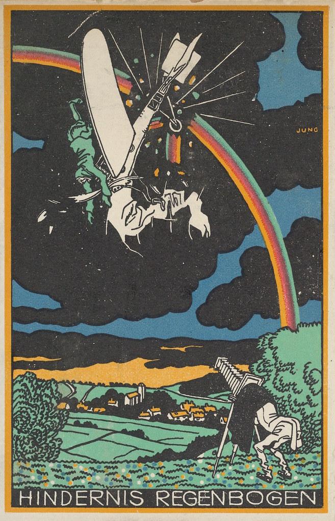 Rainbow Obstacle (Hindernis Regenbogen) Artist:Moriz Jung