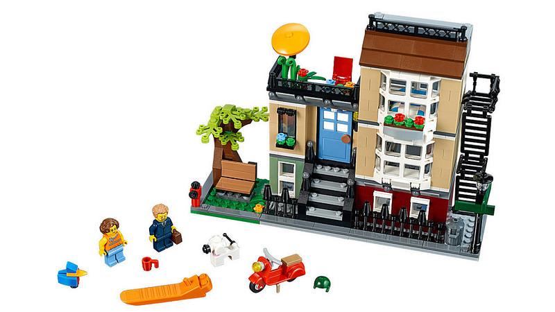 LEGO Creator - Park Street Townhouse (31065)