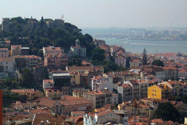 Portogallo, Lisbona -  Alfama, Miradouro da Senhora do Monte