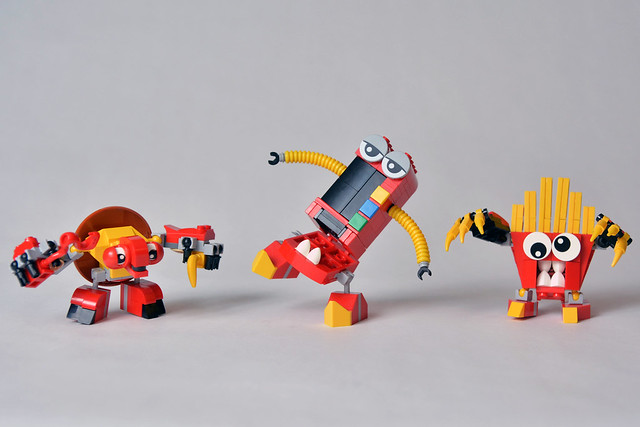 Challenge LEGO Mixels The Good Eatz
