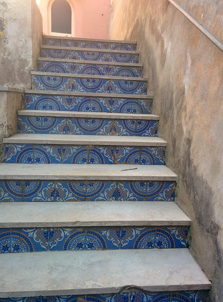 Siniset portaat Procidalla