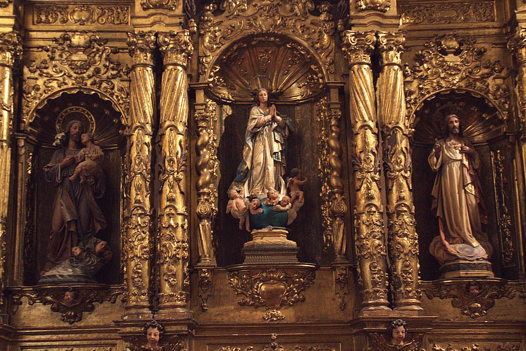 de un retablo barroco