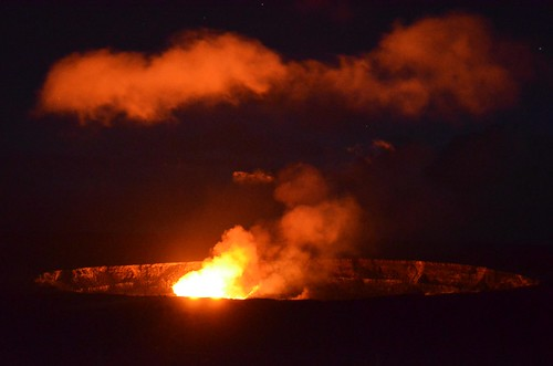 Lava Lake in the Halema'uma'u Crater