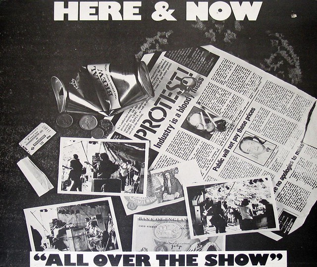"HERE & NOW ALL OVER THE SHOW LIVE 12"" LP"