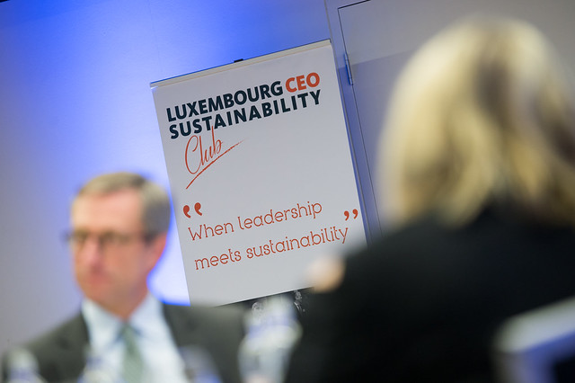 Luxembourg CEO Sustainability Club - 14 novembre 2016