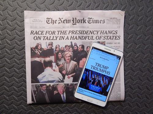 NY Times headlines