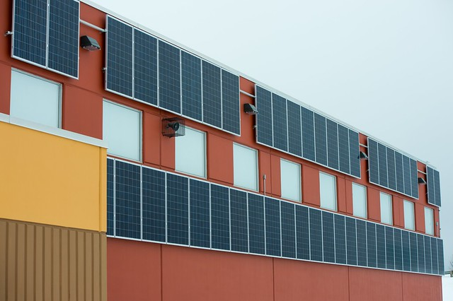 Membertou First Nation's solar powered school