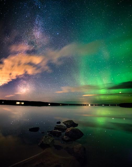 Reflections at Norvajärvi