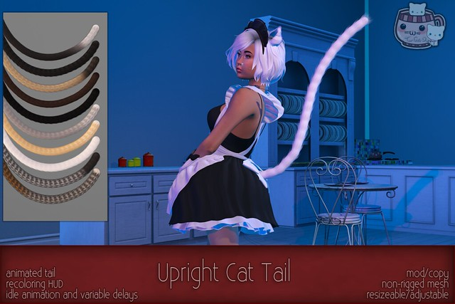 c( TC ) Upright Cat Tail poster