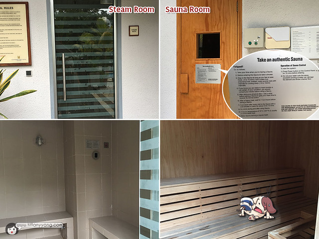 Copthorne Kings Hotel Sauna and Steam Room