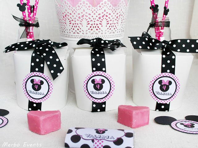 cajitas dulces cumpleaños Minnie Merbo Events