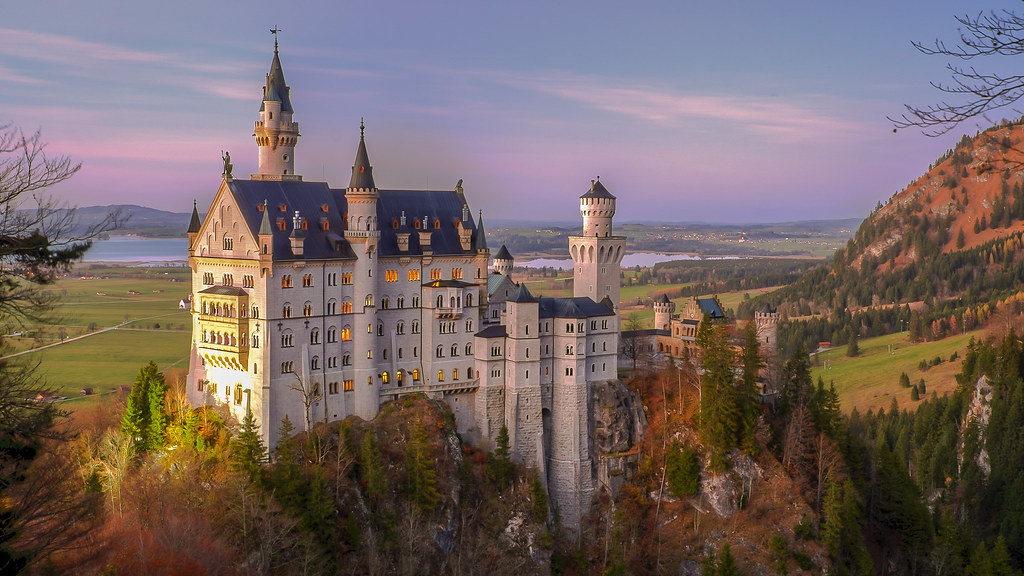 Disney Castles are not Fictional, they are Inspired by Real Structures