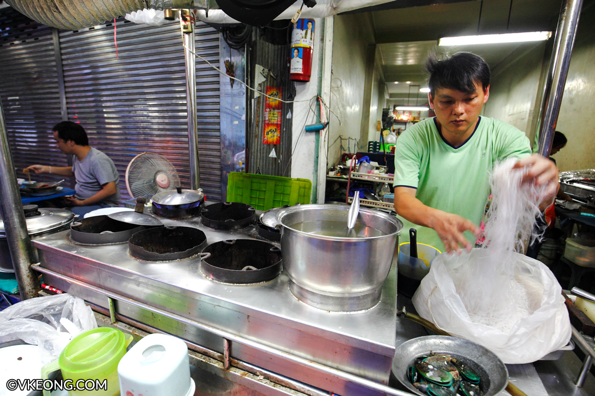 Preparing Glass Noodles