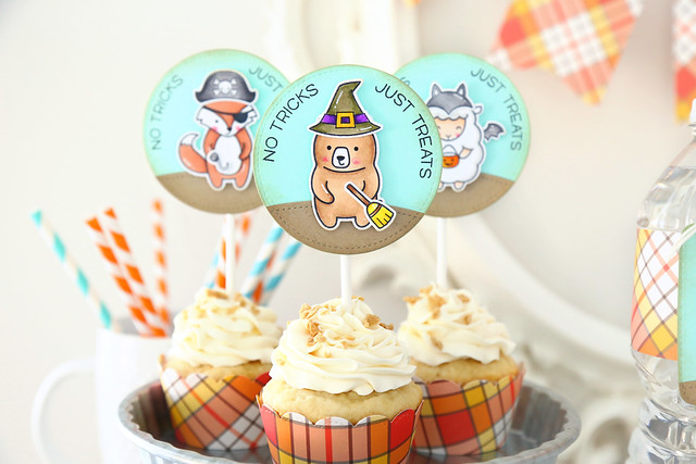 no tricks, just treats (lawn fawn party post)