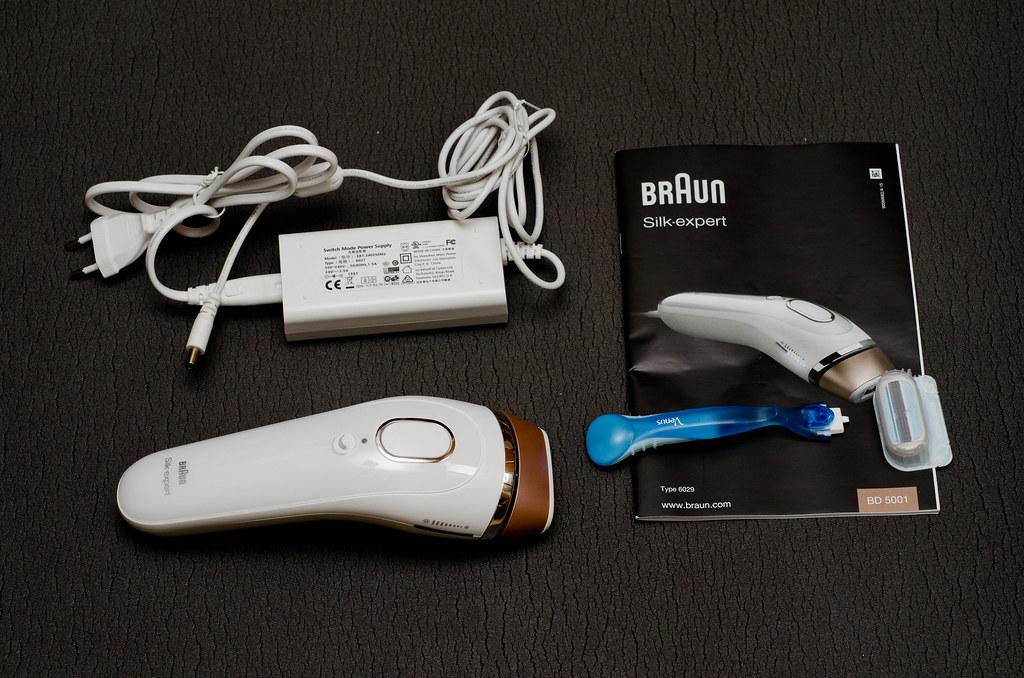 Фотоэпилятор Braun Silk-expert - отзыв