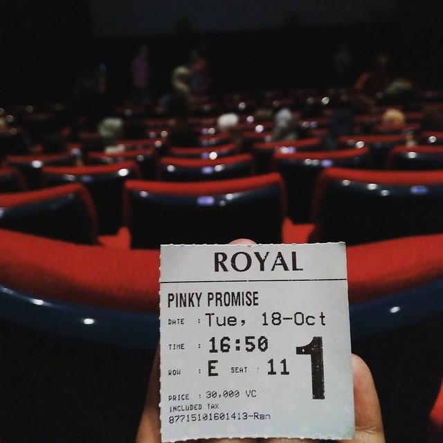 Tiket Film Pinky Promise
