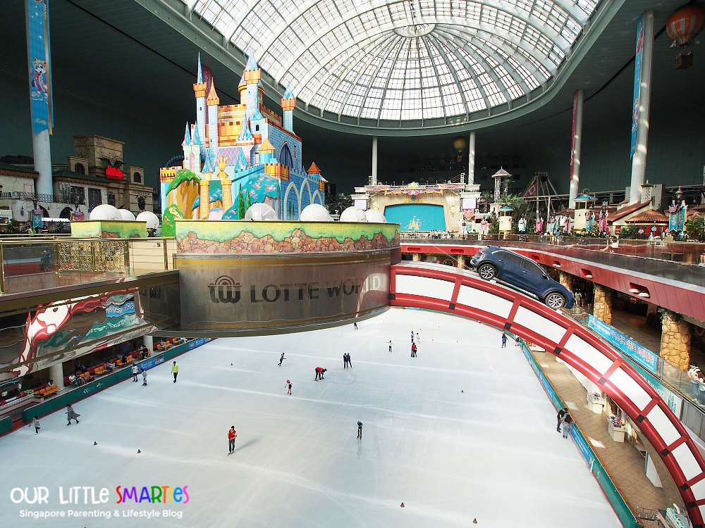 Lotte World Ink Skating Rink