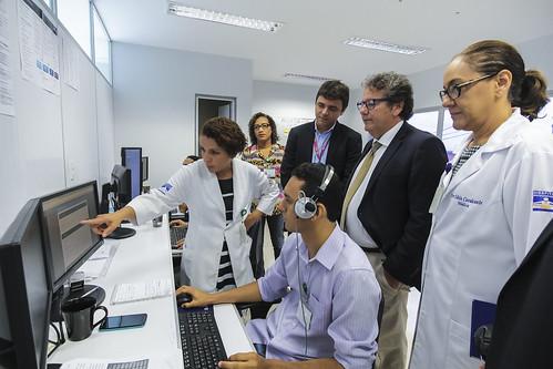 24/11/2016 - O presidente da Ebserh, Kleber Morais, visitou, nesta quinta-feira (24), o Hospital Universitário da Universidade Federal do Maranhão (HU-UFMA).