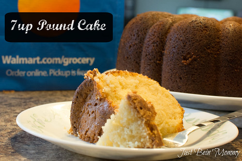 7up Pound cake brought to you by Walmart Grocery