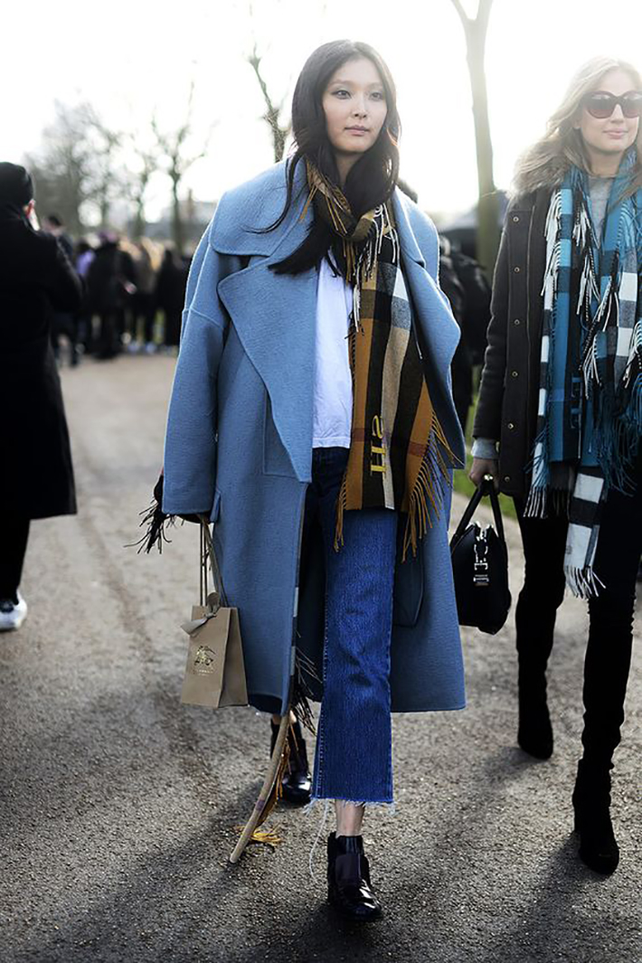 Autumn streetstyle coats sweaters rainy day outfit accessories style fashion trend8