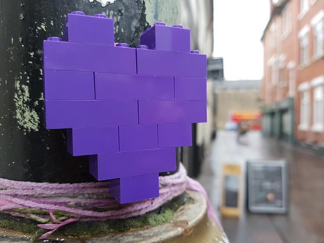 BLM Lego street art, Cardiff