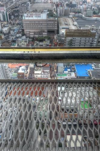 Views from 'TSUTENKAKU' tower on DEC 01, 2016 (5)