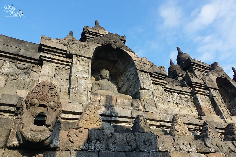 jogja borobodur wall