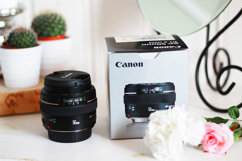 canon 50 mm objektiivi 1.4 uusi