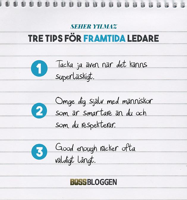 3 Tips Seher Yilmaz
