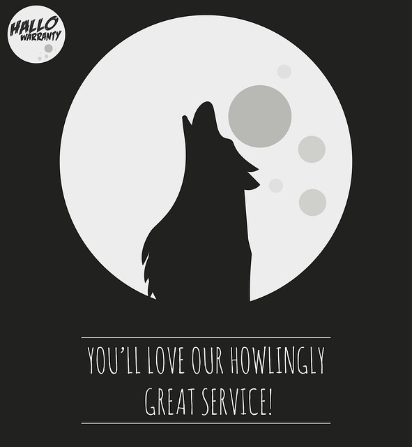 You'll love our howlingly great service