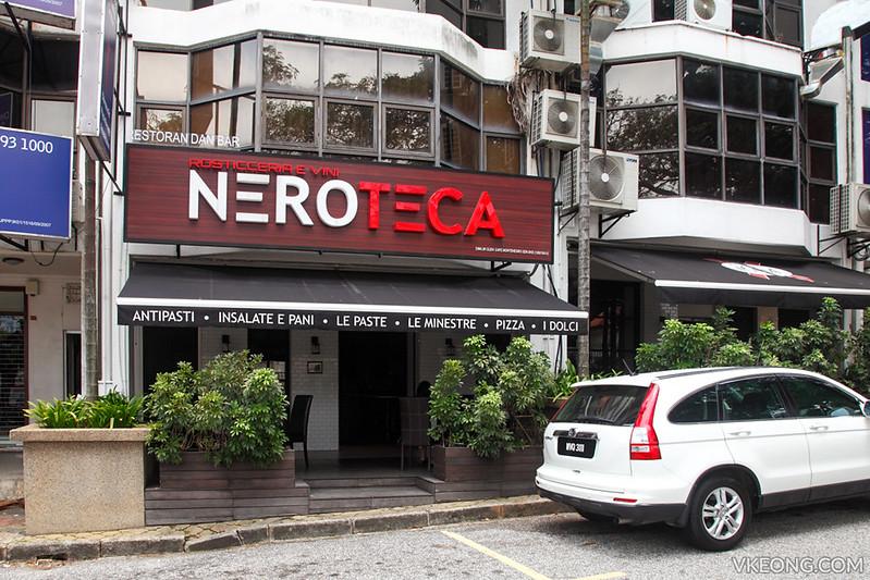 Neroteca Italian Restaurant Bukit Damansara