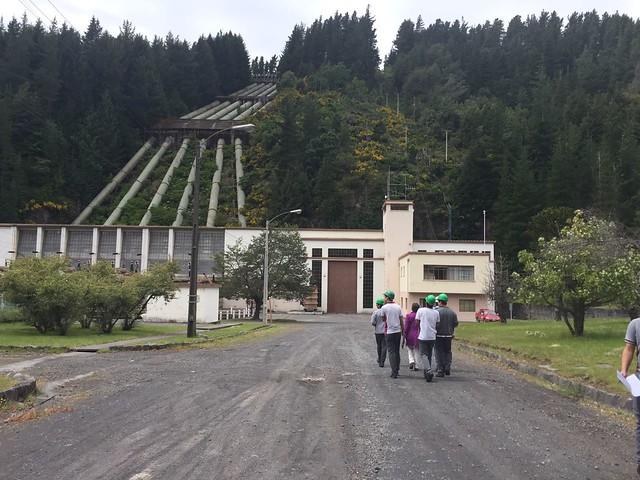 Salida a terreno: Central Abanico (Antuco)