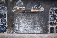 Here lyeth the body of Lidea the daughter of Robert Richmond and Margaret his wife who deceased the 19 of January 1677