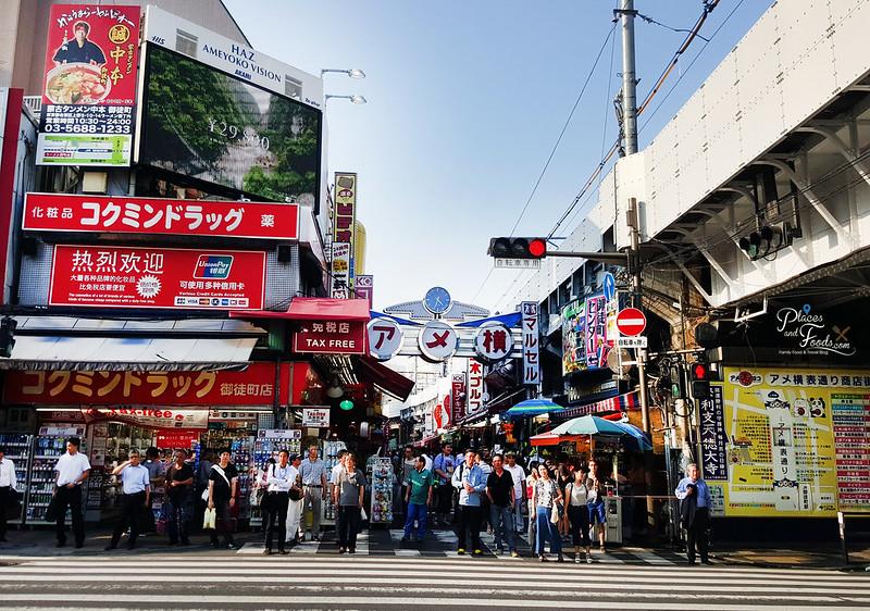 tokyo ueno shopping street