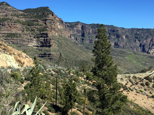 Gran Canaria - Cruz Grande in the winter