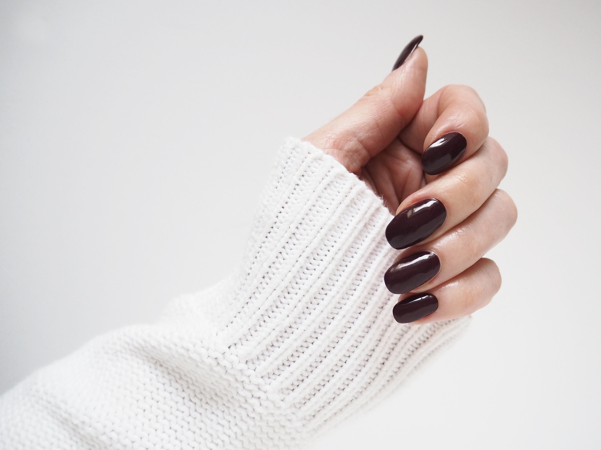 Update your beauty look: New nail shape (the squoval) | Not Dressed As Lamb, over 40 style blog