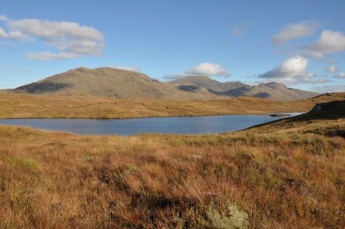 Sgurr Coire Choinnichean across Loch Bhraomisaig