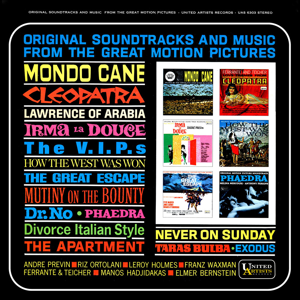 Various Artists - Original Soundtracks