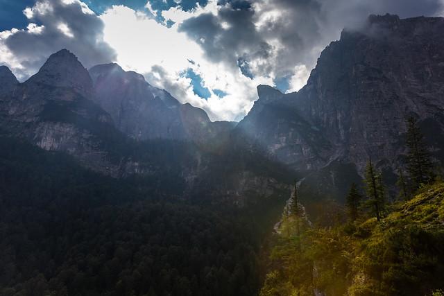 Valle delle Seghe, Trentino, Italia