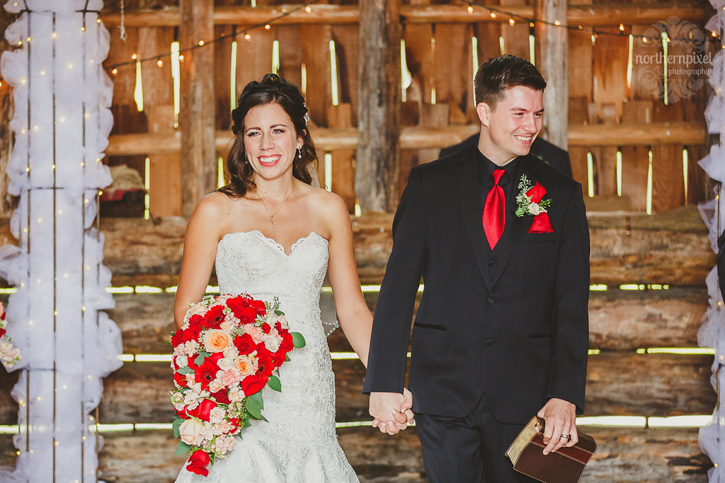 Wedding Ceremony - Huble Homestead