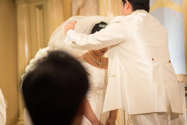 中望遠単焦点レンズで結婚式を撮影