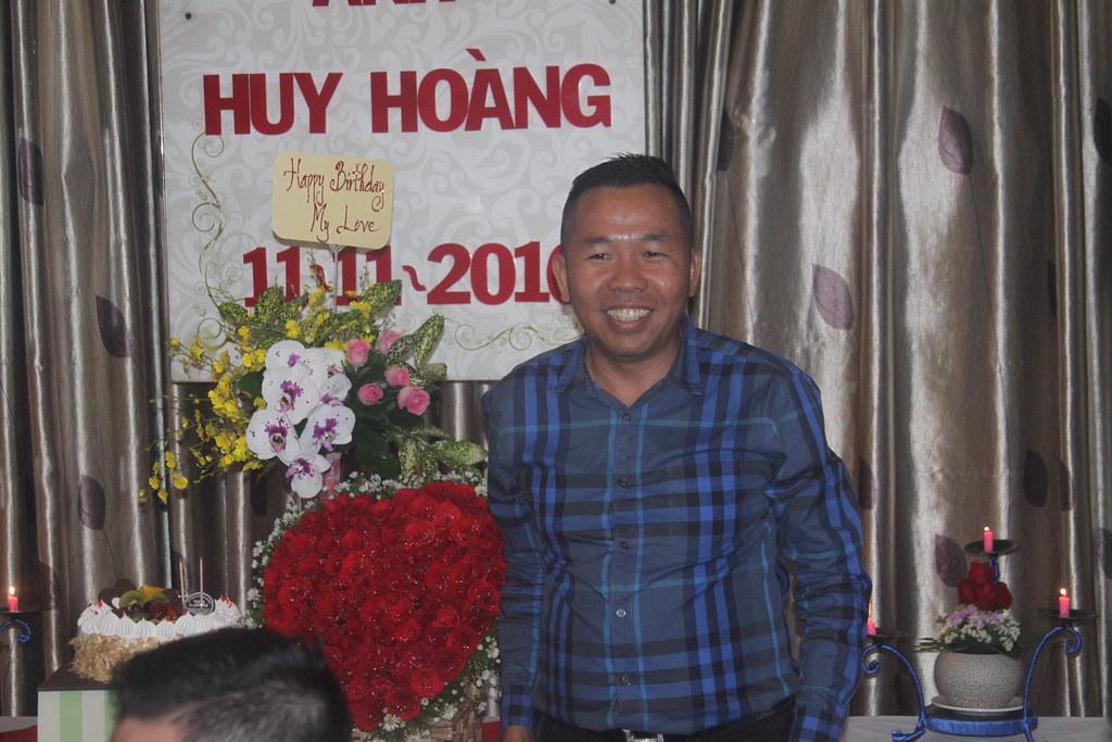 Tiệc sinh nhật Anh Huy Hoàng 11/11/2016