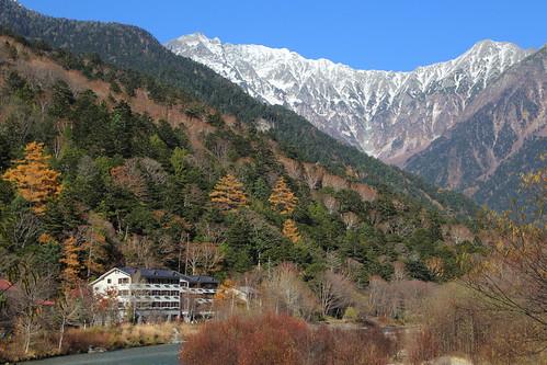 Mountain resort  Located : Kamikochi, Nagano pref, Japan ...