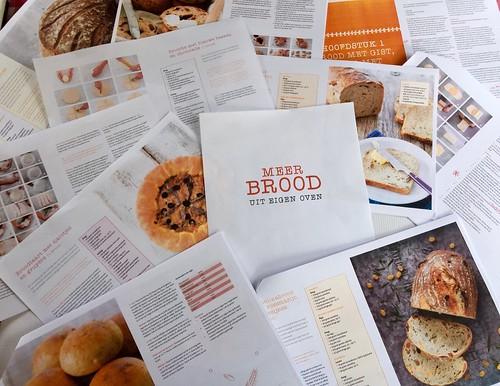 Drukproef boek Meer brood uit eigen oven