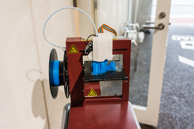 アイアンカフェの3Dプリンター
