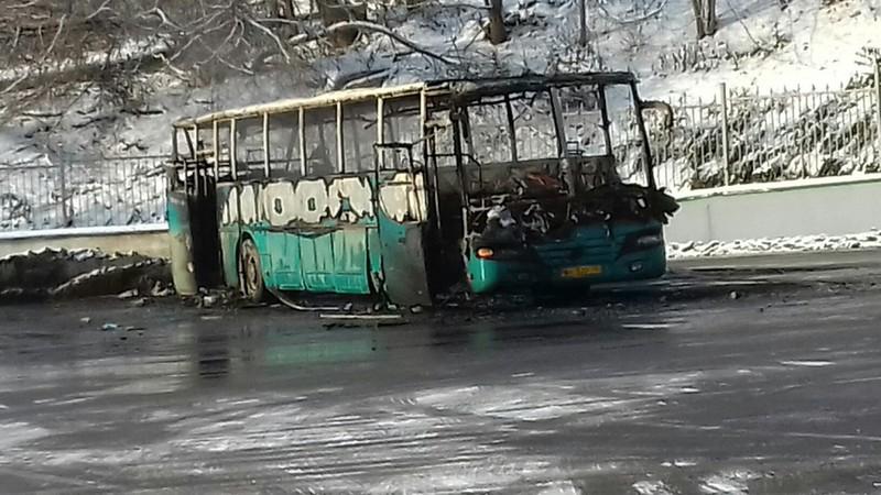 Зелёненького автобуса больше нет